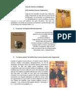 Ejemplos de Textos Literarios