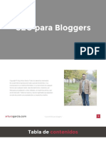 La Guia SEO para Bloggers