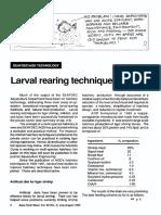 Teknik Pembesran larva ikan [English]