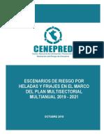 Escenario Riesgos Pmahyf 2019-2021