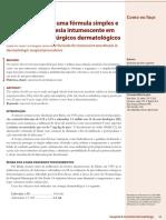 v1 Regra Dos Quatro Uma Formula Simples e Segura Para Anestesia Intumescente Em Procedimentos Cirurgicos Dermatologicos