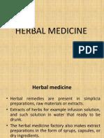 Herbal Terapy