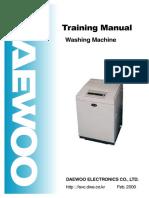 Daewoo Training Washing Machine