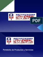 Brochur Rectificadora Universal de La Costa