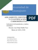 Reporte 1 de Biomoleculas (Revisado Cesar)