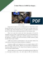 LASIK eye surgery- media discourse.docx