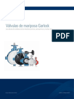Garlock Butterfly Valves Catalogo ES NB02716 LR