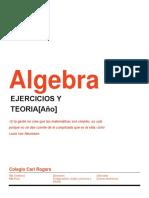 Apuntes de Algebra