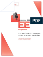 la gestión de la diversidad en empresas   españolas