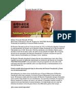 Entrevista Al Maestro Teruyuki Okazaki 10º Dan