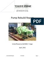 Sample Pump Rebuild Report_0