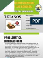 EPIDEMIOLOGIA-tétanos