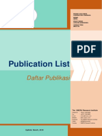 Daftar publikasi SMERU