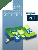 Metodologia Medicion Multidimensional de la Pobreza 3er Edicion