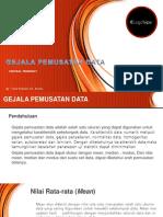 2 Gejala Pemusatan Dan Penyebaran Data