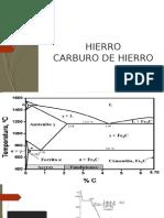 HIERRO CARBURO DE HIERRO