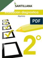 DIAGNÓSTICO 2° SANTILLANA