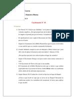Cuestionario N 10-11
