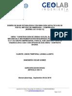 Informe Base Granular Estabilizada Con Emulsion Crl-1