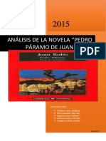 Análisis de La Novela Pedro Páramo