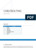 Cable Bolting
