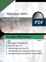 03. Pedoman Penerapan SMK3 PP 50 Tahun 2012-2