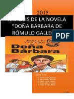 Análisis de La Novela Doña Bárbara Final