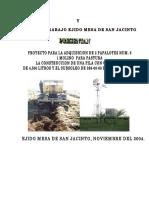Proyecto de Adquisicion de Infraestructura y Equipo Para La Produccion Ganadera Extensiva