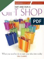 Start and Run Gift Shop