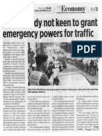 Business World, Sept. 10, 2019, Senate body not keen to grant emergency powers for traffic.pdf