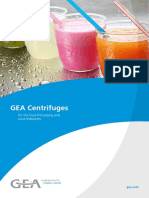 Centrifuges in Fruit Juice Processing