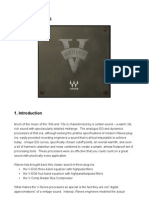 Waves V-Series Comp/EQ Manual