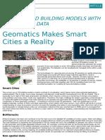 Art 3 - La Geomática Hace de Las Smart Cities Una Realidad