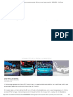 ID.3_ Volkswagen Apresenta Compacto Elétrico e Promete _preço Acessível_ - 09-09-2019 - UOL Carros