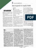 Manila Standard, Sept. 10, 2019, Rice tariffication responds to supply issues.pdf
