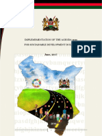 Kenya HLPF Report June 2017