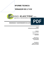 Ot 2384 Its Alternador 2.7kw Buenaventura