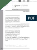 Dialnet-ElSistemaDePatentesEnColombia-5114833.pdf