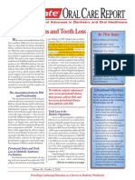 Diabetes Mellitus and Tooth Loss