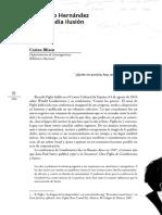 Felisberto Hernández y una media ilusión