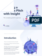 Winning a Business Pitch With Insight