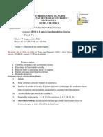 Agenda 1 FIS II