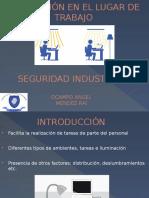 ILUMINACION EN EL LUGAR DE TRABAJO.pptx