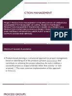 Project Production Management