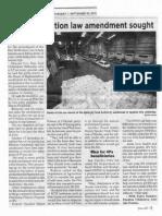 Philippine Star, Sept. 10, 2019, Rice tariffication law amendment sought.pdf