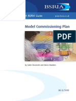 Model Commissioning Plan (Sample)