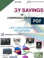 Air compressor savings