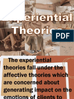 Experiential Theories