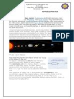 Kepler's Law of Planetary Motion