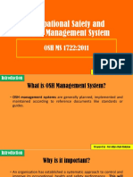 Chapter 2 OSH Management System